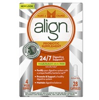 Align probiotic helps reduce symptoms of irritable bowel syndrome.