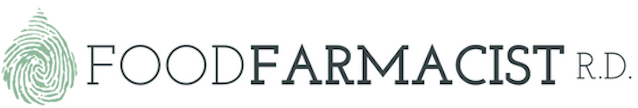 Food Farmacist RD Logo | Integrative Dietitian