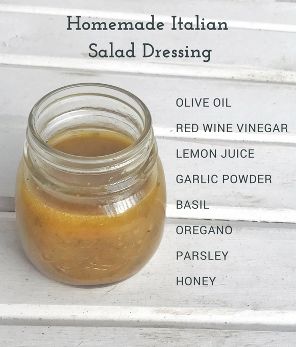 This homemade Italian salad dressing can rival Olive Garden's famous recipe. |Gluten Free Salad Dressing|