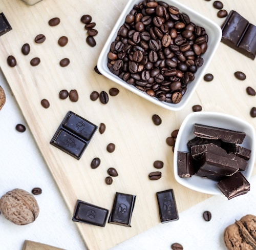 Dark chocolate may reduce the stress hormone cortisol in your blood. Click to learn what other stress-busting foods may help!