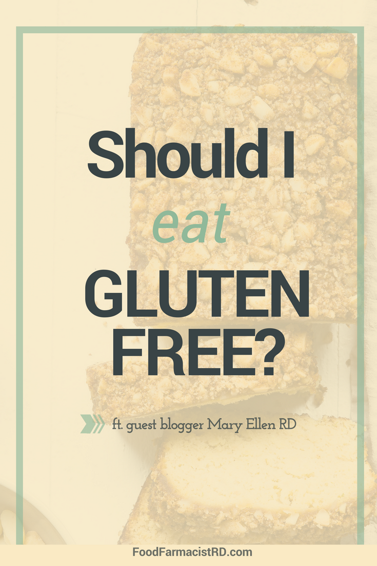 Is a gluten-free diet for me? Some conditions may require a gluten-free diet, but the science about whether everyone should avoid it is limited. Read more! |Gluten-free diets| Gluten-free meals