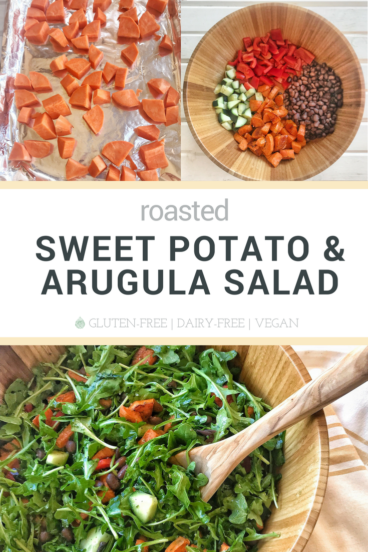 sweet potato arugula salad recipe