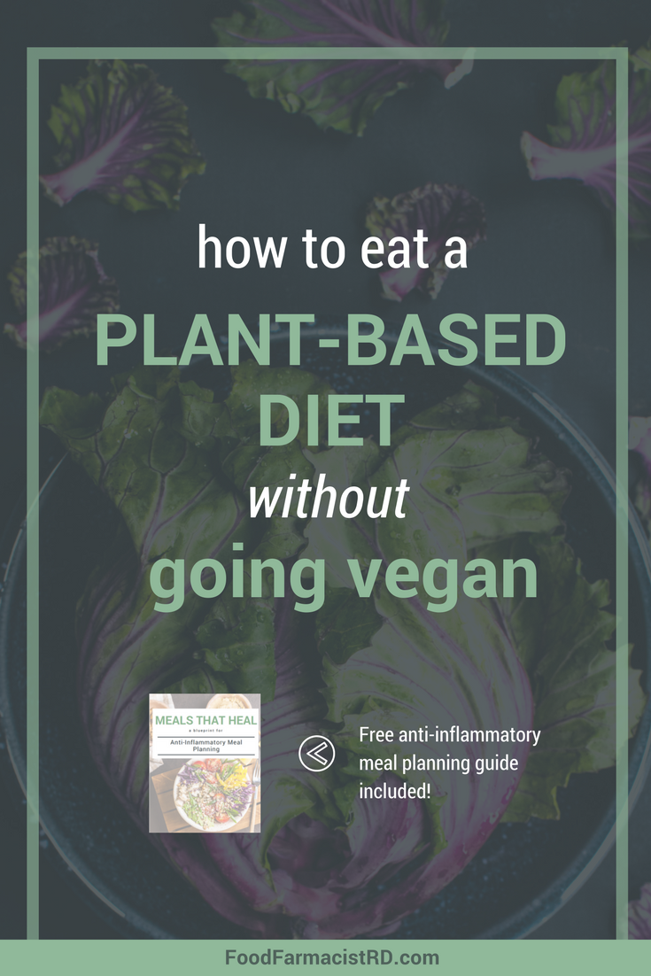 Plant-based diets are hugely beneficial, but following a vegan diet is not realistic for many people. Vegan diets also have many pitfalls. Learn how to eat a plant-based diets without committing to a strict vegan diet!