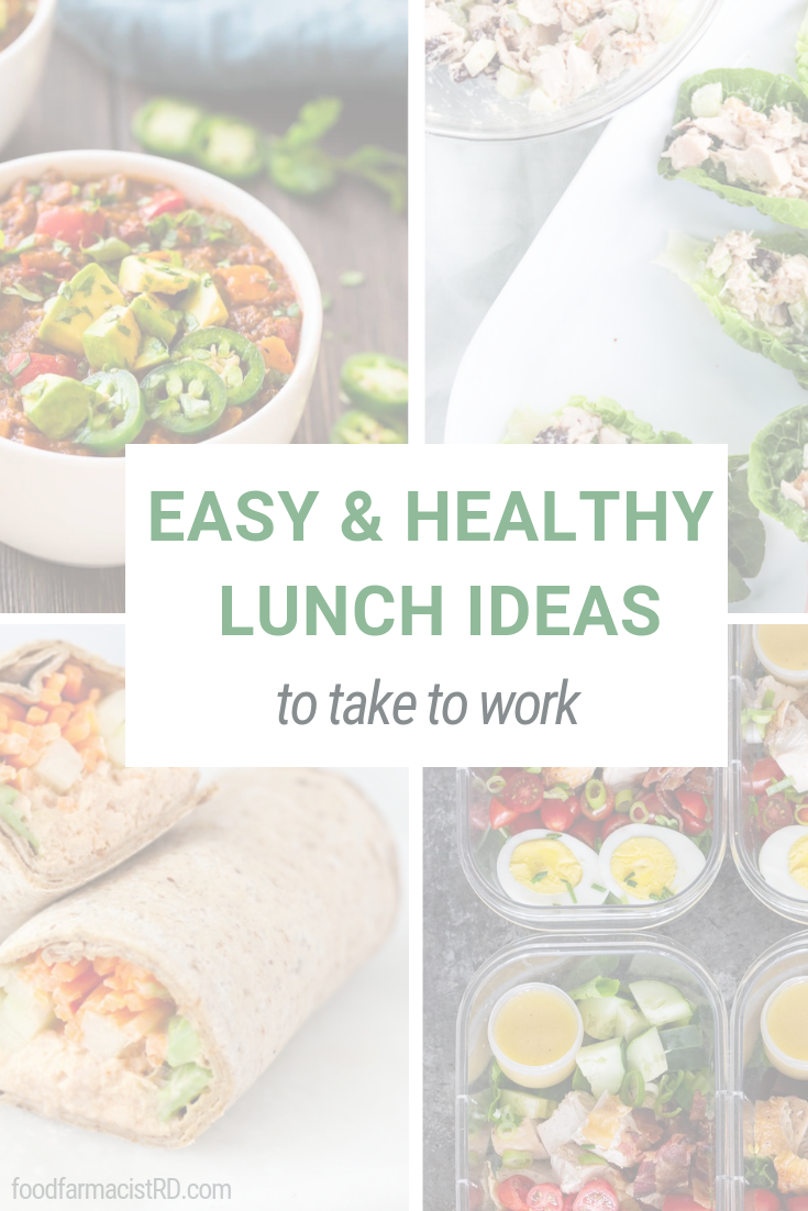 Easy Lunch Ideas | Lunch Ideas for Work | Healthy lunch ideas