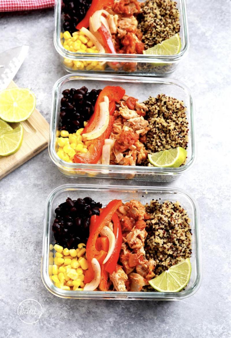 lunch ideas - burrito bowl
