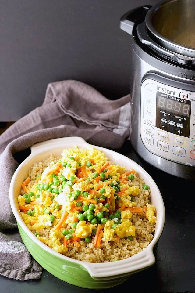 Instant Pot Quinoa Recipe | Easy Quinoa Recipe