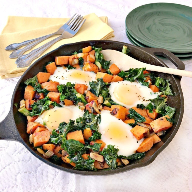 Sweet potato breakfast hash, sweet potato breakfast