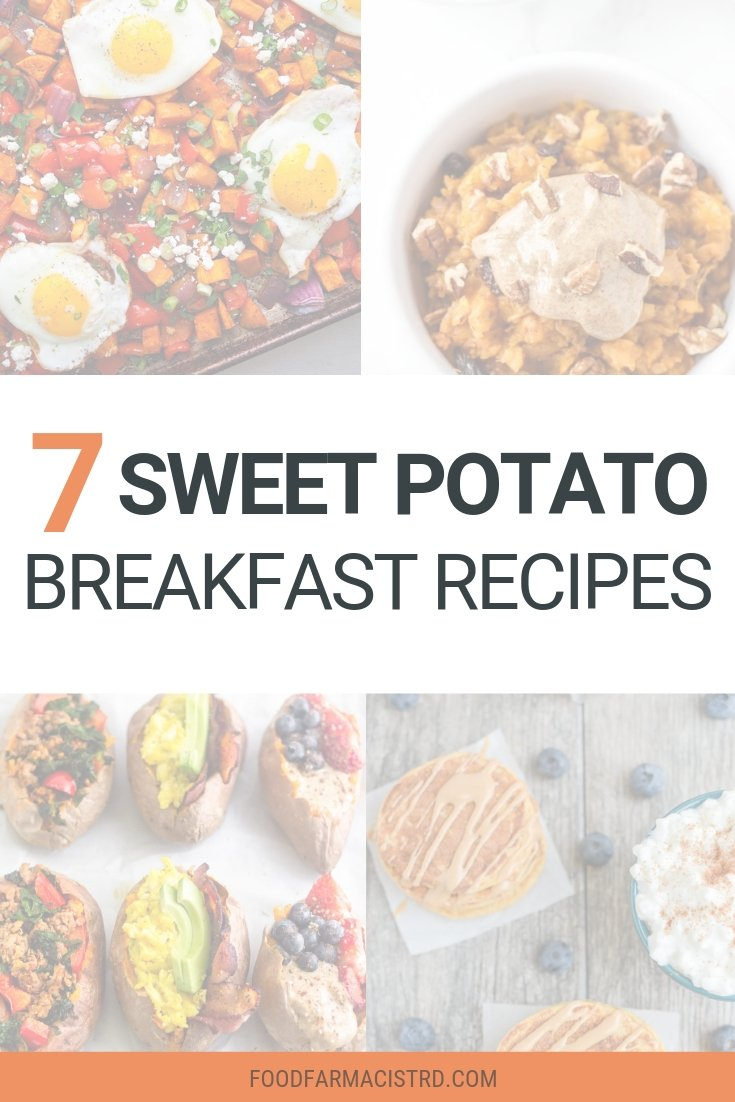 Sweet Potato Breakfast Recipe Roundup, Sweet Potatoes for Breakfast, Sweet Potato Recioes