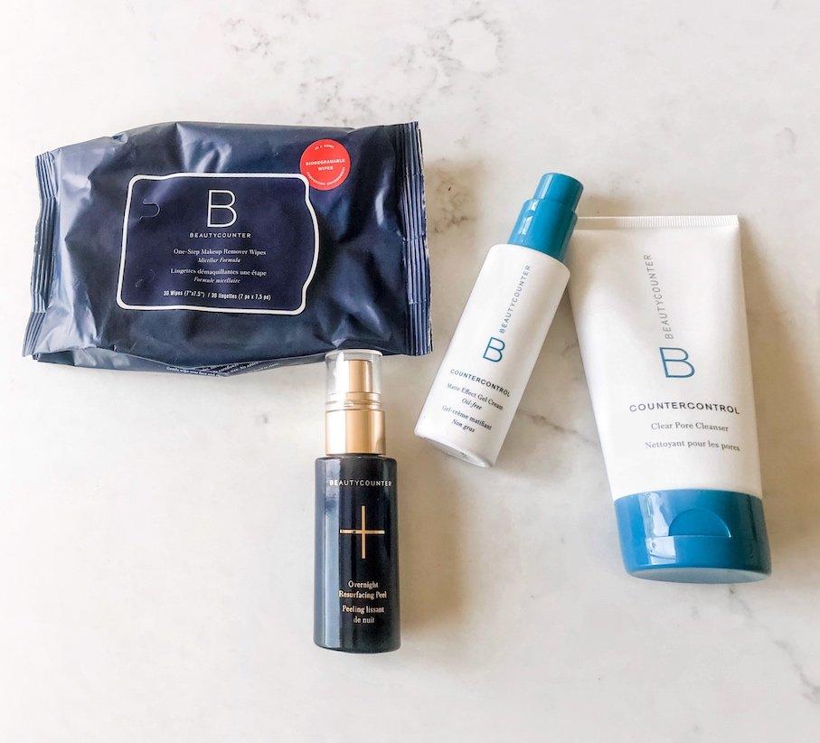 Nighttime skincare routine Beautycounter